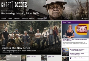 SyFy's Ghost Mine